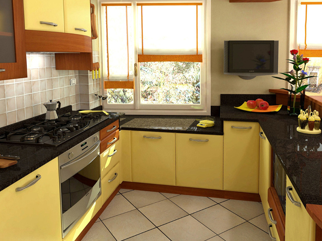 Kitchen in Negro Impala